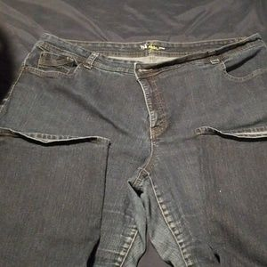 Style & Co Jeans Size 24 Petite Bling Dark Wash